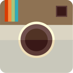 The Instagram logo.